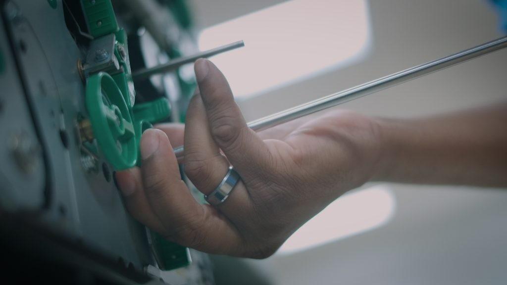 Repairing ATM