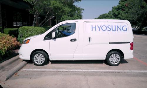 Hyosung service van