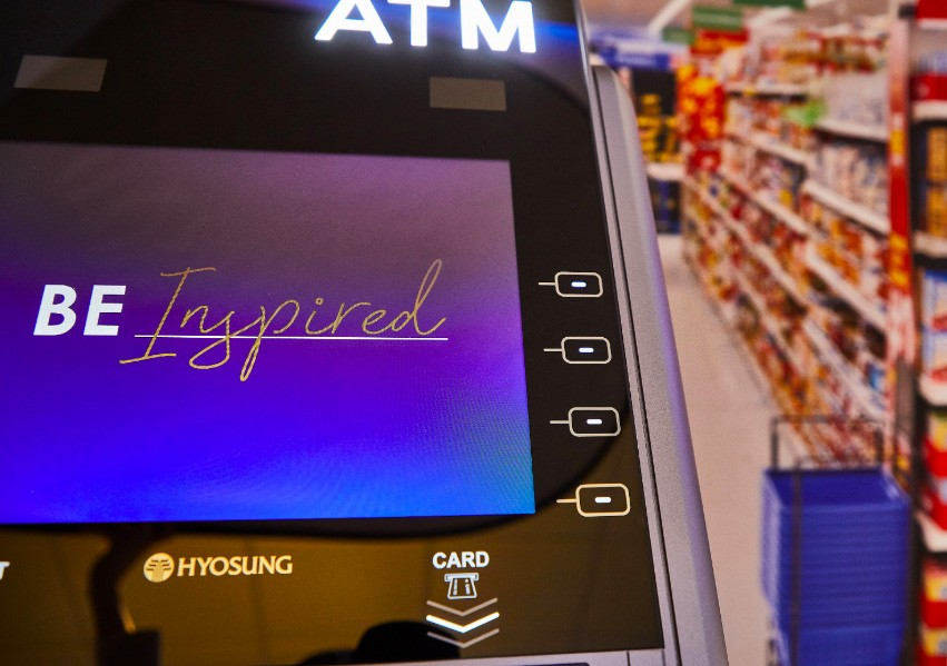 A Hyosung ATM machine is Powering Retail
